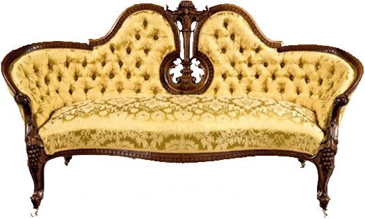 Антикварная мебель: софа
